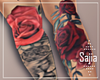 S | Red Rose Tatto