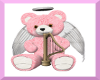 Pink N White Angel Bear