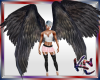 KC Dark Angel Wings