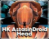 HK Assasin Droid Head