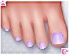 💗 Pedicure Lilac
