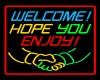 Neon Welcome!