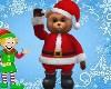 (PET) Santa Bear