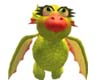 Glitzy Baby Dragon