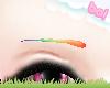 . rainbows eyebrows