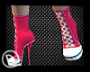 Pink Converse Heels