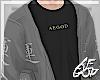 """Ⱥ"""" Gray Streetwear"""
