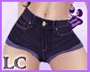 ! !!LC* Shorts morados