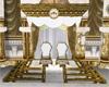 Royalty WhiteGold Throne