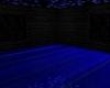 Neon Blue Bedroom