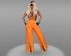 cindal suit orange