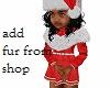 Kids Christmas Red Dress