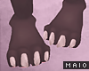 🅜 WOLF: feet claws m