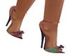 Watercolor Bow Heels