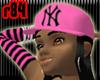 [r84] Pink NY Cap2 BlkH
