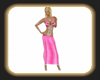 Alyson pink dress