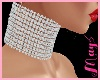 """Diamond Choker May's"
