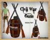 Civil War Gun display