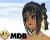 ~MDB~ BLACK TANYA HAIR