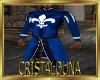Musketeer royal blue top