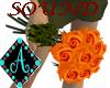 {Ama Roses Bunch Orange
