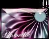 *R* Violet Flowr Sticker