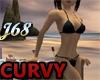 J68 Curvy Bikini Black