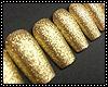 gold nail long
