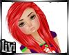 Ariel Mermaid Red Hair