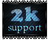 2k Support Sticker