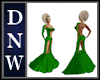 NW Green Show Gown/Sleve