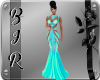 [BIR]Gown*Teal v2