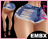 EMBX Bimbo Short Ripped