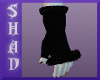 {SP}Black Fur Gloves