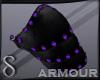 -S- Necro Armor Violet