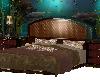Brown Aquarium Bed