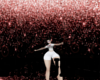 Pink Raining Glitter BG