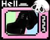 .:Goth Platform Boots:.
