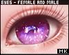 金. Purple Eyes