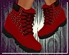 Tims Style Wedges Red