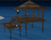 Tall Tiki Hut With Dock