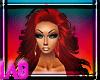 Red Iyana Hair !