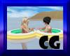 (CG) Couples Swim Tube