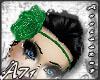A- Green Flower Band_H