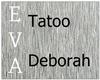 Tatoo Deborah-E.L