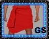 """GS"" Bath Towel Red"