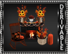 Decorated Fall Fireplace