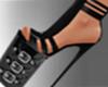 Bimbo Girl Black Heels