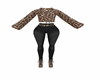 Leopard Full Outfit L