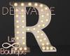 Luminous Letter Lamp R
